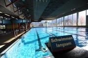 Blick ins Schwimmbad in Altdorf. (Bild: Urs Hanhart)
