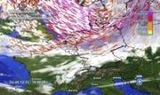 Nach Vorhersagen der Meteorologen könnte Norddeutschland von den Fluten stark getroffen werden. (Bild: Keystone)