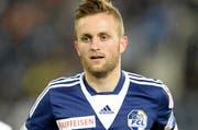 Ein gefragter Spieler: Jakob Jantscher, der beim 6:2-Sieg über St. Gallen zwei Tore erzielte. (Bild: Keystone)
