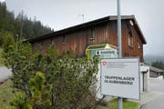 Die Militärkaserne auf dem Glaubenberg. Hier soll ein Asylzentrum entstehen. (Bild: Dominik Wunderli / Neue LZ)