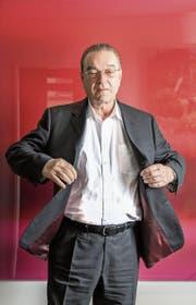 Oswald Grübel, fotografiert in seinem Büro in Zürich. (Bild: Nadia Schärli (20. Dezember 2017))