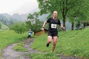 Kennt die Strecke auf die Bannalp aus dem Effeff: der ehemalige Langläufer und Biathlon-Spezialist Christian Stebler aus Wolfenschiessen. (Bild: Corinne Glanzmann (Oberrickenbach, 21. Juni 2015))