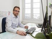 Urs Janett, Finanzdirektor des Kantons Uri, in seinem Büro. (Bild: PD)