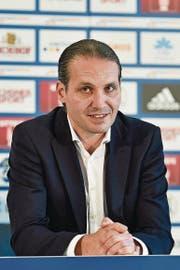 «Bader wird ein intaktes Team übernehmen», so Remo Meyer Spielertrainer FC Hochdorf. (Bild: Martin Meienberger/freshfocus (freshfocus))