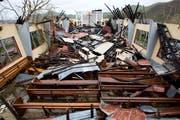 Eine zerstörte Kirche in Haiti. (Bild: AP Photo/Dieu Nalio Chery)