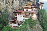 Blick auf das berühmte Kloster Tiger's Nest im Himalaya. (Bild: PD)