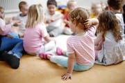 Einen nicht subventionierten Platz in der Kindertagesstätte kann sich nur leisten, wer gut verdient. (Bild Stefan Kaiser)