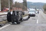 Die Unfallstelle in Sulz (Bild: Kapo AG)