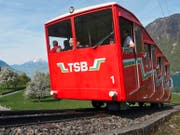 Heute verkehrt die Bahn jährlich rund 10 000 Mal und befördert so über 90 000 Fahrgäste. (Bild Christoph Näpflin)