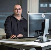 Philipp Unterschütz, neuer Leiter des Büros in Sarnen. (Bild: Pius Amrein (6. November 2017))