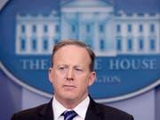 Der Sprecher des Weissen Hauses, Sean Spicer, ist offenbar zurückgetreten. (Archiv) (Bild: KEYSTONE/EPA/MICHAEL REYNOLDS)