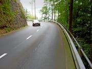 Ein Abschnitt der Bürgenstockstrasse. (Bild: PD)