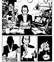 Comicautor Kleist widmet sich der Kreativität des Musikers Nick Cave und lässt dessen Schöpfungen lebendig werden. (Bild: Carlsen-Verlag)