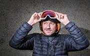 Zeichnete schon als Kind Hunderte von Pistenplänen: Roger Gfrörer. Nun absolvierte er in den Dolomiten seinen 5000. Skilift. (Bild: Urs Bucher (Zürich, 22. Dezember 2017))