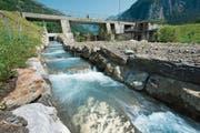 Vor fünf Jahren hat das Elektrizitätswerk Altdorf im Schächen eine Fischtreppe gebaut. (Bild: Angel Sanchez, Unterschächen, 27. Juli 2012)
