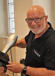 Der in Altdorf tätige Coiffeur Beat Widmer wird pensioniert. (Bild: PD)