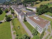 Die renovierte Schulhausfassade. (Bild: Markus L'Hoste)