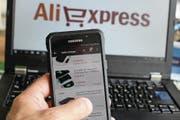 Aliexpress bietet viel an – auch viele in der Schweiz verbotene Waren. (Bild: Michal Fludra/Getty (14. Juli 2017))
