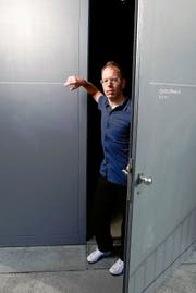 Andreas Gröber geht die Schwierigkeiten guten Mutes an, mit denen die Chollerhalle zu kämpfen hat. (Bild Stefan Kaiser)