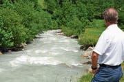 Die Nutzung des Alpbachs im Erstfeldertal ist seit Jahren umstritten. (Bild: Sven Aregger (Erstfeld, 15. Juli 2013))