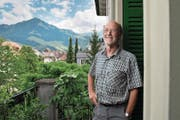Adrian Balbi bei sich zu Hause in Stans. (Bild: Corinne Glanzmann (12. Juli 2017))
