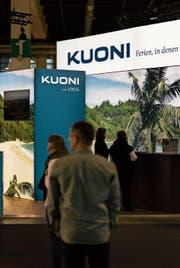 Kuoni hat sich erfolgreich aufgestellt. Ein Stand des Reiseveranstalters an der Fespo. (Bild: Christian Beutler/Keystone (Zürich, 27. Januar 2017))