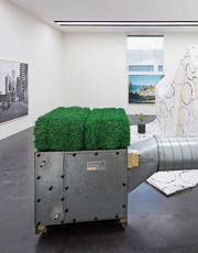 Installation «us15» von Jonas Burkhalter im Kunstmuseum. (Bild: Marc Latzel/PD)