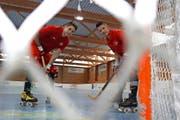 Sie stehen in Frankreich im WM-Fokus: die beiden Urner Joshua Imhof und Patrick Greimel. (Bild Elias Briker)