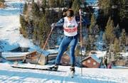 Nach vielen Trainings und Wettkämpfen wird Nadine Matter an der WM im Langlauf-Sprint antreten. (Bild: Martin Arnold (Steg LIE, 14. Januar 2018))