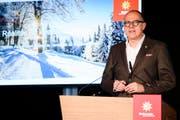 Jürg Schmid, Direktor von Schweiz Tourismus: sollen «schnelle Glücksgefühle» erleben und sich nicht über Jahre via Skischule auf die Pisten hocharbeiten, (Bild: Manuel Lopez / Keystone)