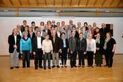 Rund dreissig Mitglieder hat der Alpnacher Kirchenchor Cäcilia derzeit. (Bild Robert Hess)