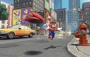 Screenshot des neuen Nintendo-Spiels «Super Mario Odyssey». Es erscheint am 27. Oktober für die Nintendo Switch. (Bild: PD)