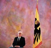 Bundespräsident Frank-Walter Steinmeier bei der Pressekonferenz diese Woche. (Bild: Markus Schreiber/AP (Berlin, 20. November 2017))