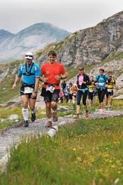 Der Mountainman beginnt und endet wie 2015 wieder auf Melchsee-Frutt. (Bild Roger Zbinden)