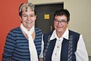 Lydia Christen (links) und Rosly Liem-Abegg. (Bild: Birgit Scheidegger (Ennetmoos, 29. November 2017))
