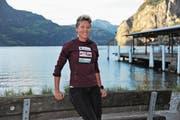 Blickt trotz erneuter Verletzung optimistisch in die Zukunft: Langstreckenläuferin Jasmin Widmer. (Bild: Urs Hanhart (Flüelen, 4. Oktober 2017))