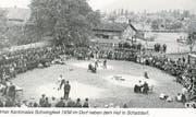 Das Unrner «Kantonale» 1939 in Schattdorf. (Bild: PD)