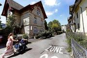 Die ehemalige Sparkasse an der Florastrasse in Baar. (Bild: Neue ZZ)