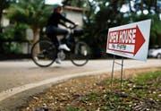 Hausverkauf in Florida: Die Folgen der Hypothekenkrise sind noch nicht ausgestanden. (Bild: Scott McIntyre/Getty (Miami, 19. November 2016))
