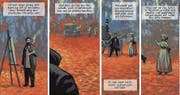 Ausschnitt aus dem «Monet»-Comic. (Bild: PD)