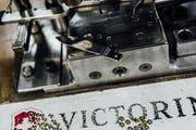 Die Klinge des 500-millionsten Sackmessers, das am Donnerstag in Ibach hergestellt wurde. (Bild: PD)