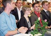 Die 20-jährige Daniela Barmettler aus Buochs erzielte die Bestnote 5,8. (Bild: Richard Greuter (Sarnen, 4. Juli 2017))