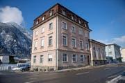 Gemeindehaus Erstfeld fotografiert am 17. Januar 2017. Gemeinde, Übersicht, Dorf (Bild: Corinne Glanzmann (Erstfeld, 17. Januar 2017))