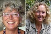 Die neuen Co-Präsidentinnen von Pro Natura Unterwalden: Theres Odermatt (links) und Romy Ineichen. (Bilder: PD)