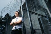 Der neue starke Mann vom Gefängnis Bostadel: Direktor Andreas Gigon. (Bild Stefan Kaiser)