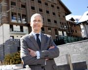 Generalmanager Jean-Yves Blatt darf sich freuen: Das Hotel The Chedi Andermatt erhält demnächst einen weiteren renommierten Preis. (Bild Urs Hanhart)