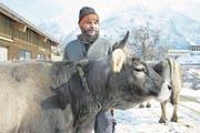 Bio-Uri-Sekretär Martin Schilter bewirtschaftet mit seiner Frau Barbara seit 20 Jahren den Biohof Halten in Gurtnellen-Dorf. (Bild: Christof Hirtler (Gurtnellen-Dorf, 27. Februar 2018))