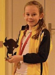 Geehrt wurde auch die junge Schweizer Meisterin im Kunstturnen, Laura Horat.