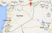 Die Stadt Hassaka (rote Markierung), in welcher die Anschläge verübt wurden, liegt im Nordosten von Syrien. (Bild: Google Maps)
