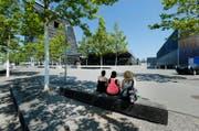 Noch ist auf dem Arenaplatz alles ruhig. Aber schon ab Montag wird mit dem Aufbau begonnen. (Bild Stefan Kaiser)